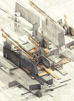 Illustrations by Atelier Olschinsky (via The future is already here — it's just not very evenly distributed - but does it float)