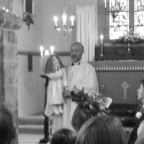 Bad picture, but yes, that is a ventriloquist vicar. Win.  (Taken with Instagram)