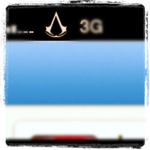 Made my phone awesome last night, but this is the best bit: Assassin's Creed logo replacing the network provider? YES PLEASE!!! (Taken with Instagram)