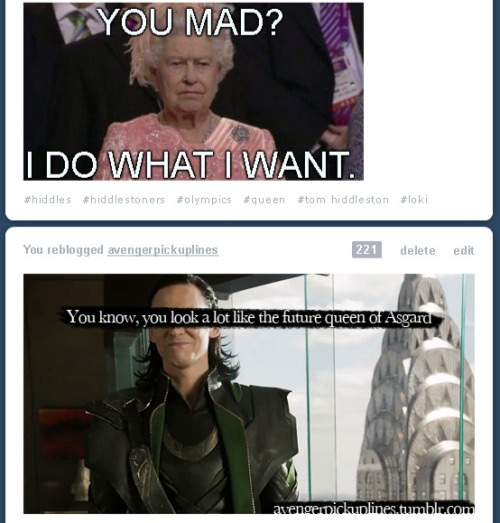 baconutella:  Meanwhile, on my dashboard, Loki approves.