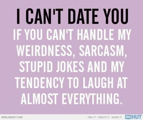 and I just found that someone who I can date with… <3