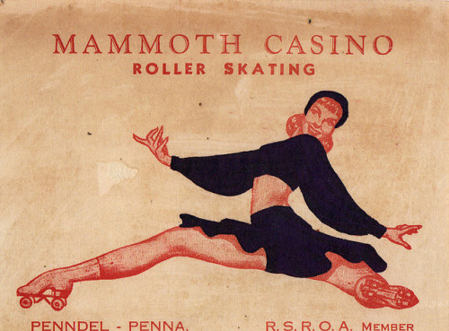 klappersacks:  Mammoth Roller Skating Rink! by slade1955 on Flickr.