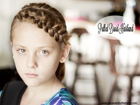 rainbowsandunicornscrafts:  DIY Easy Pulled Puffy Braid Video Tutorial by Measured by the Heart at U Create here. This technique reminds me of the heart braid tutorial I posted here.