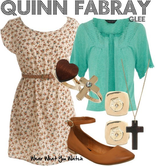Dianna Agron as Quinn Fabray - Click here to purchase items from the set above.