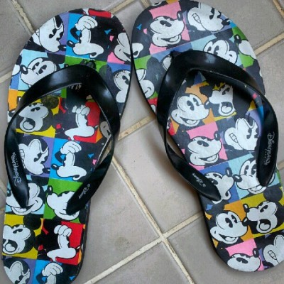 flip flops@holiday ;) #holiday #flipflops #disneyland #mickeymouse #fashion #like #instagram #cyprus (Taken with Instagram)