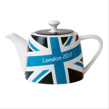London 2012 Union Jack Brights Teapot.