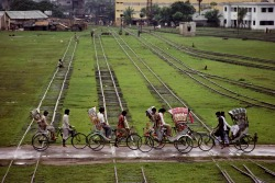 Steve McCurry's, 'The world's ride- Dhaka Bangladesh'  (x)