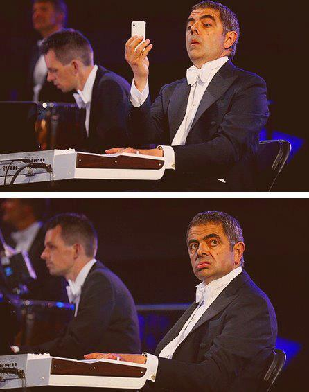 toddyandcompany:  Mr Bean/Rowan Atkinson <3  Rowan Atkinson makes me giggle like a schoolgirl.