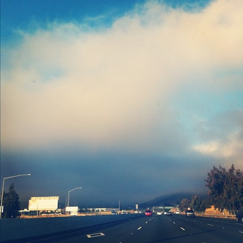 Driving to wintertime. #sanfrancisco (Taken with Instagram)