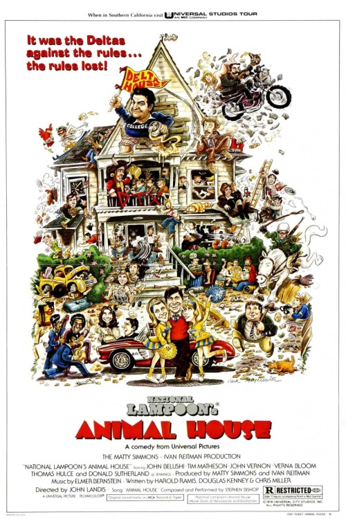 upnorthtrips:  BACK IN THE DAY |7/28/78| The movie, Animal House, is released in theaters.