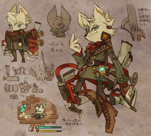 tbpnemo:  rikose:  old furry×steampunk スチームパンク系ケモノまとめ  Yo I'mma dedicate my life to these gifs OK with you guys?  OK cool.