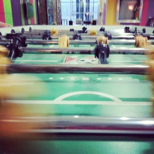 Totally had fun with this game today. Haha #funstagram #tablesoccer #soccer #games #gamestagram #fun #totallymademyday #whatmademyday #igers #igerscebu #igersphilippines #instagrammers  (Taken with Instagram)