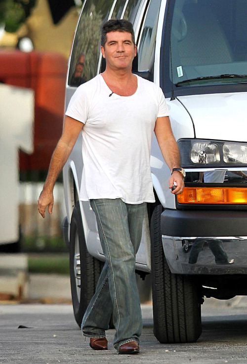Simon Cowell - Miami. X Factor USA Boot Camp.
