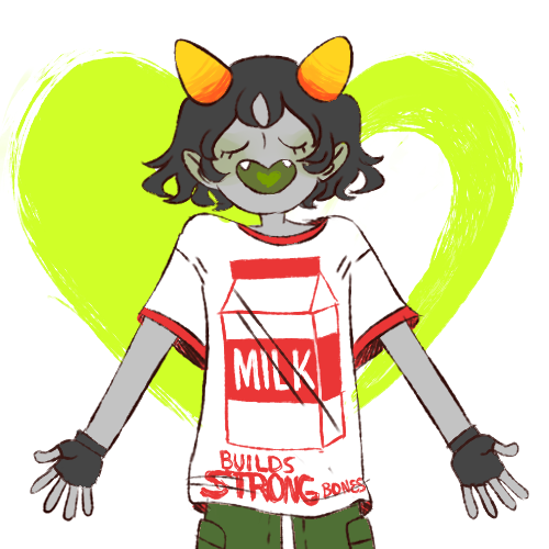 cockhungryprincess:  of course nepeta borrows equius's clothes all the time