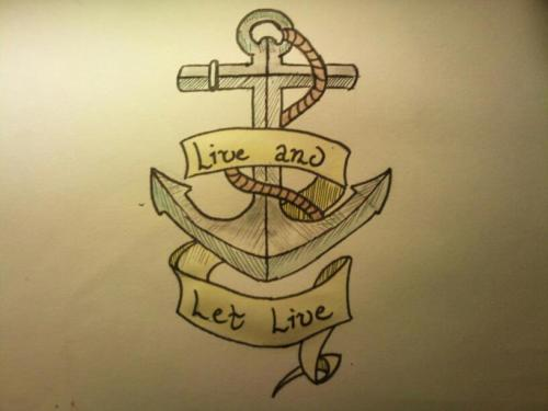 Tattoo design I made for maddie go follow her :)