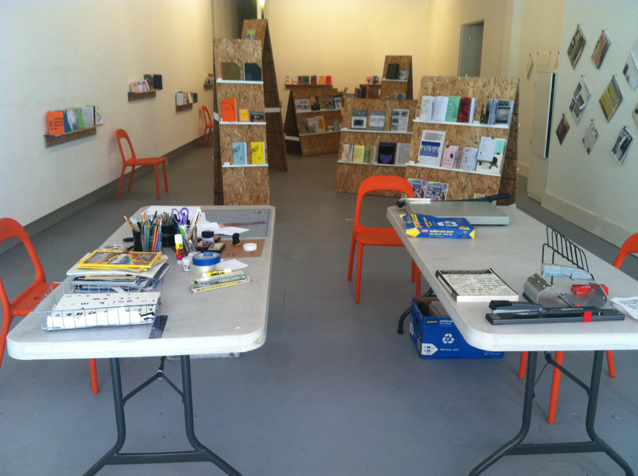 Zine Workshop starting at noon! If you are in or near Portland, ME, come on by.