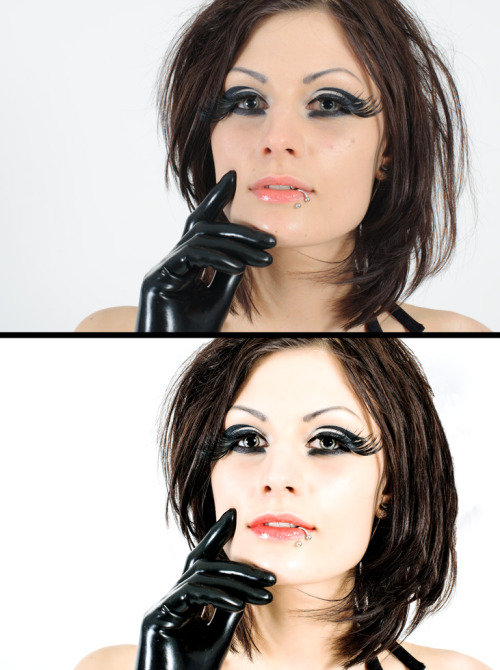 Before and after editing/retouch Photo and editing: Jonas Röjestål
