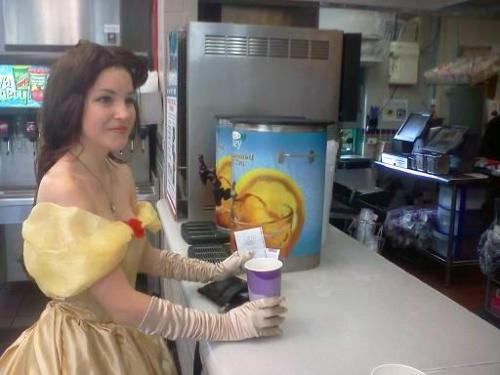 Taco Belle. Found here: http://www.reddit.com/r/pics/comments/x9pyi/at_a_taco_bell_when_suddenly_tacobelle/