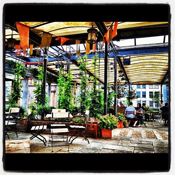 Good afternoon! ##gallowgreen #rooftop #mckittrickhotel #lovenyc #instagrammer #instacool #manhattan #nyc #newyorkcity #instagood #igaddict #igersnyc #instadaily #instamillion #statigram #webstagram #jj #instapic #city #phonogram #instatop #bestphoto #best #iphonesia #doubletap #tagstagram #follow #ignation #igg #instagold #instabr (Taken with Instagram at Gallow Green (Rooftop Garden Bar at the McKittrick Hotel))