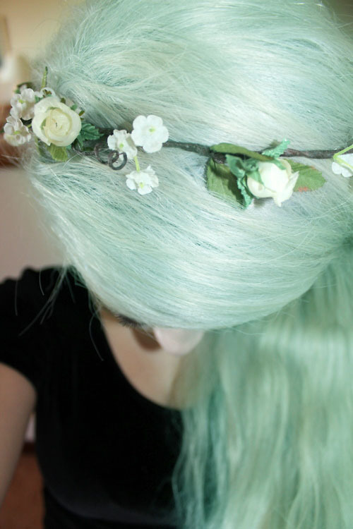 obsessed with coloured hair