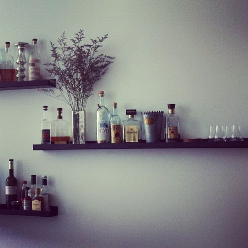 Liquor as art.  (Taken with Instagram)
