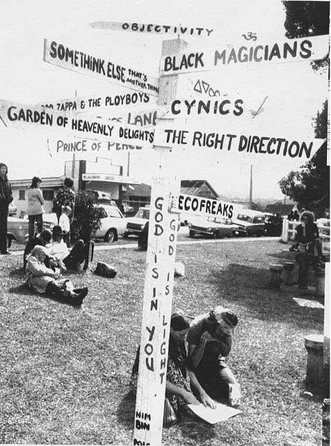 Nimbin Aquarius Pole 1973 by Anua22a on Flickr.