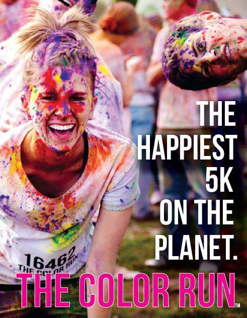 size10plz:  babydontreply:  im running the color run tomorrow :D is anyone else!?  That guys face is the best.
