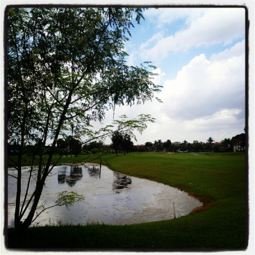 #Golf #Margate #SouthFlorida  (Taken with Instagram at The Greens Of Margate)