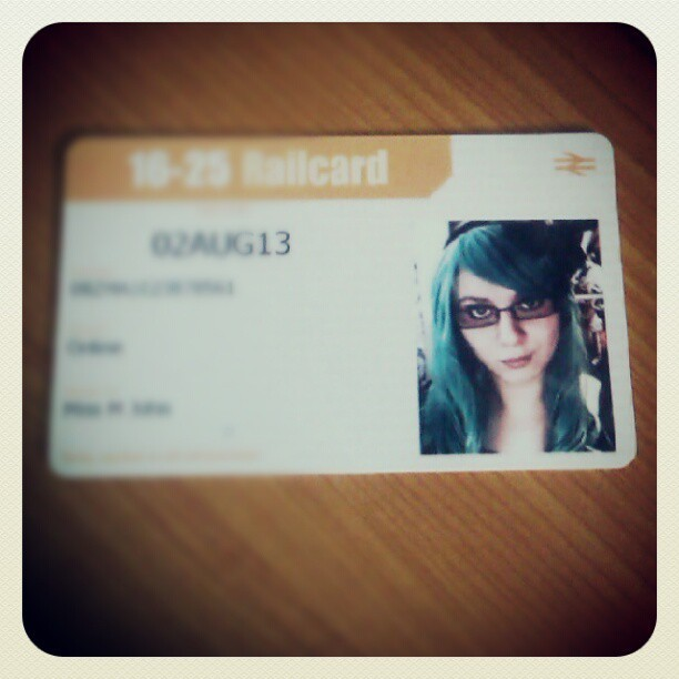 Hehe, my railcard came today. So didn't think they'd accept the picture.