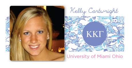 sororitysugar:  KKG lilly sorority rep ♥