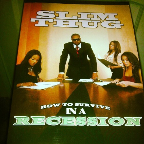 @slimthugga How To Survive In A Recession book (Taken with Instagram)