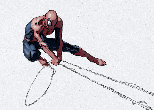xeroboys:  2012.07.28, digital, spiderguy