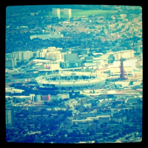 The view from the plane coming in today (Taken with Instagram)