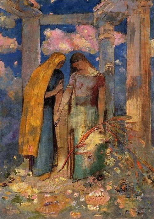 a sacred art, the-unknown-friend: Mystical Conversation, by...