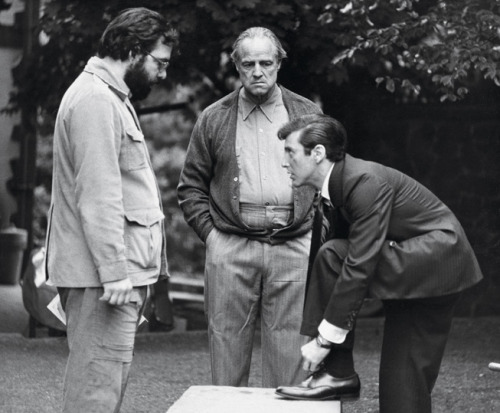 > BTS Photo's of The Godfather ( 1972 ) - Photo posted in The TV and Movie Spot | Sign in and leave a comment below!