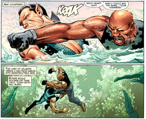 Luke Cage vs Namor
