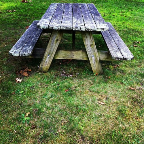 picnic in waiting. (Taken with Instagram)