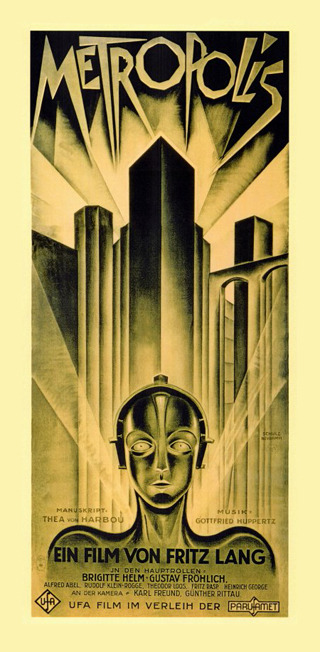 FAULT Favourite: Metropolis Fritz Lang's melodramatic masterpiece is 85 years old this year, and still impresses modern audiences with it's visually stunning, art deco inspired cityscapes and innovative German Expressionist cinematic effects.