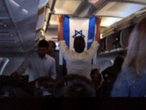 "Romney's Gafftastic ""World"" Tour: Onward to Israel! (Photo: Romney's campaign team decorates the Romney plane) View more… shared via WordPress.com"