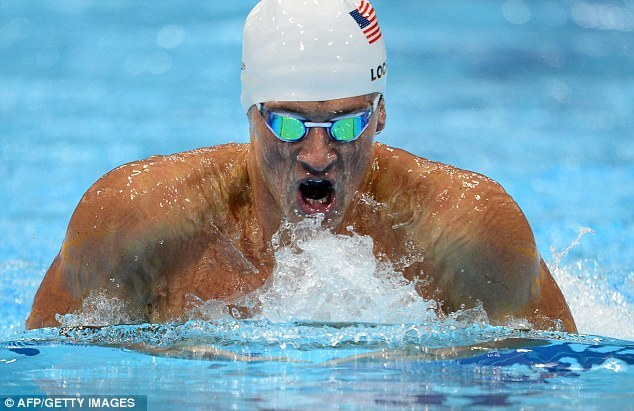 Cruise control: Ryan Lochte was outstanding in his first final of The Games