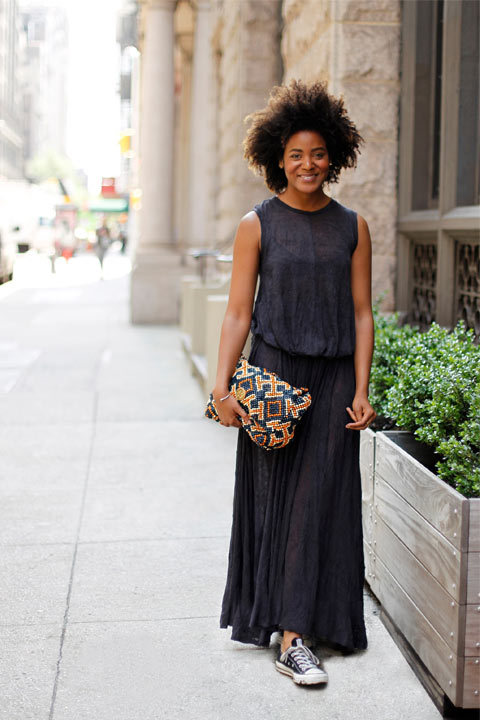 Le Look Du Jour: Alyse Archer-Coité, Editor-in-Chief of MAKER Magazine.