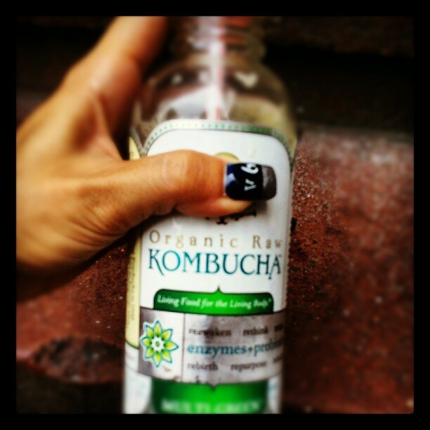 I stay drinking The Mushroom People. I'm a fungicidal maniac, LOL #kombucha #raw #organic  (Taken with Instagram)