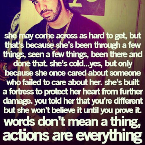 #Drake #Quote #true #girls #boys #relationship #him #her #love (Wurde mit Instagram aufgenommen)