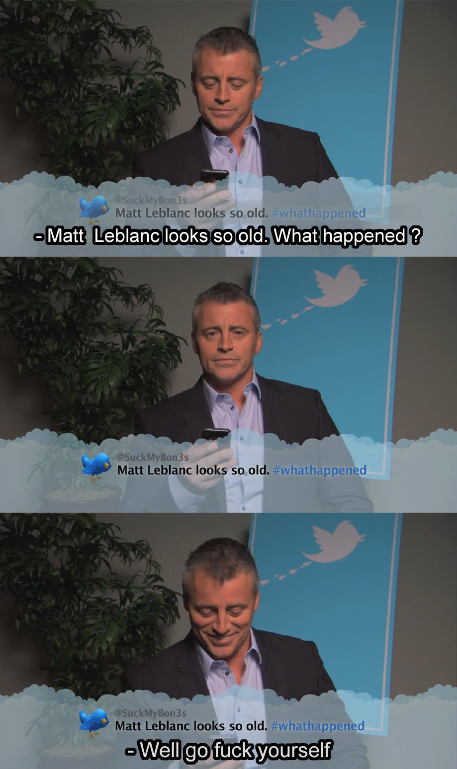 Epic Matt Leblanc is epic.