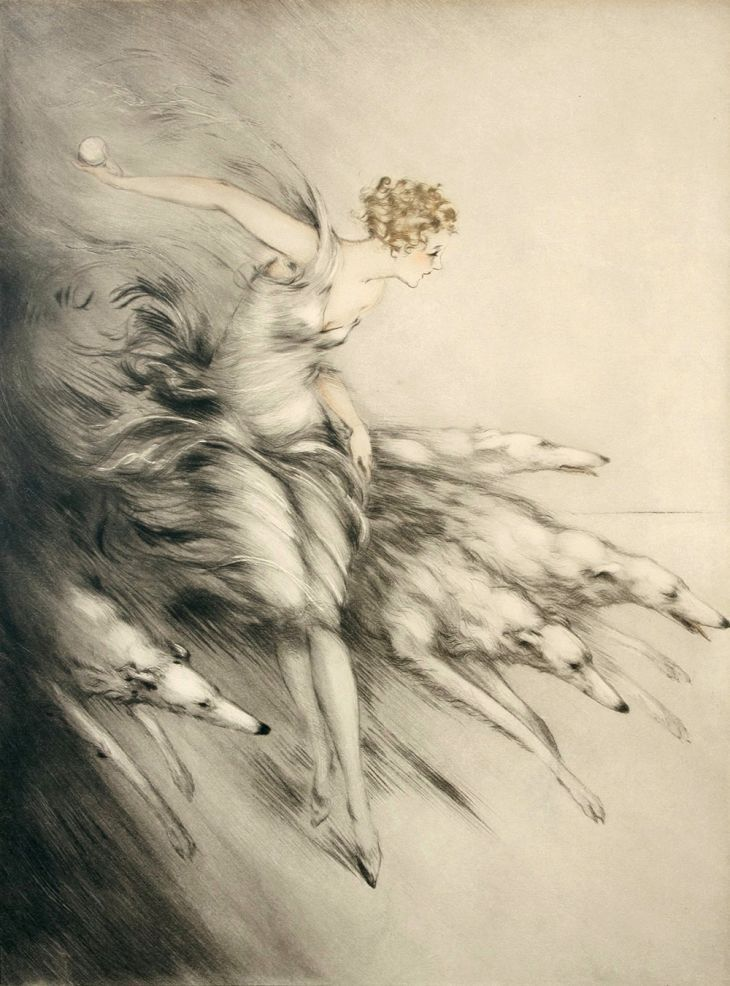 the-negative-space:  Artist: Louis Icart