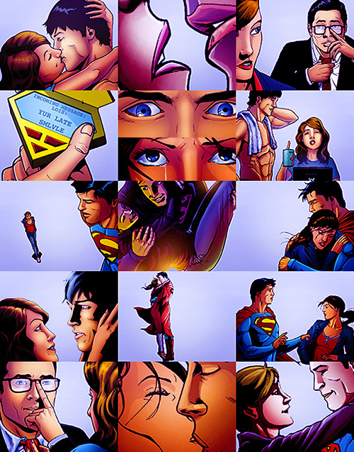 Favorite TV/Comic pairings: Clark Kent & Lois Lane from Smallville
