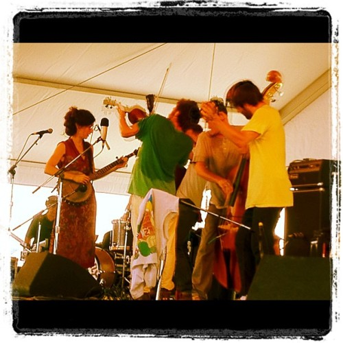 Spirit Family Reunion kicking up the dust @ Newport Folk Festival   (Taken with Instagram at Newport Folk Festival)