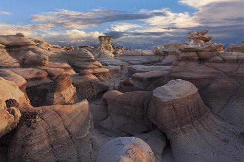 Bisti Badlands - Taken in the Bisti Wilderness, New Mexico at sunset.