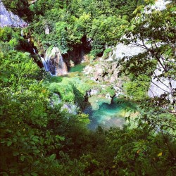 #croatia #plitvika #plitvice #water #lakes #landscape #waterfalls #trees (Taken with Instagram)