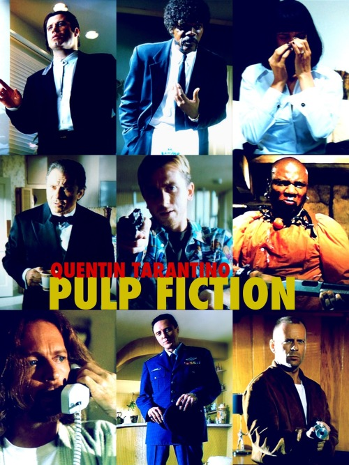 Pulp Fiction by Luke Bettencourt